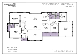 single storey house plans home design brilliant 5000 sq ft house floor plans 5 bedroom 2