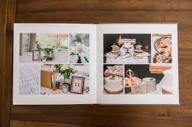 10x10 Wedding Album Gorgeous Maryland Wedding Album Design By Marlayna Photography