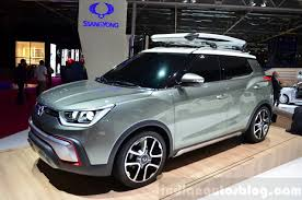 mitsubishi adventure engine ssangyong x100 to launch in early 2015 with 1 6l engine