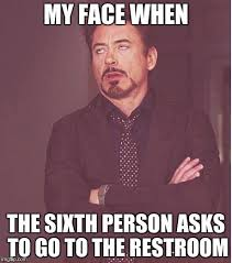 How To Make A Meme With My Own Picture - face you make robert downey jr meme my face when the sixth