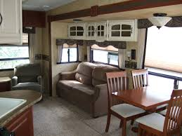 5th Wheel Living Room Up Front by Kb Rv Center U2013 Adventure Awaits
