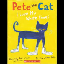 pete the cat i my white shoes song and book teachertube