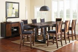 counter high dining room sets kitchen counter height dining room table high kitchen table