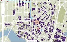 American University Campus Map Directions And Parking Pacific Northwest Seismic Network