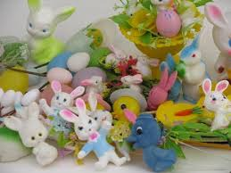 antique easter decorations vintage and easter