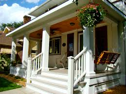 architecture front porches with white columns and white railing