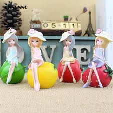 jelly color kawaii fruit resin crafts figurines watermelon