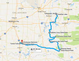 durant wyoming map best fall foliage road trip to take in oklahoma