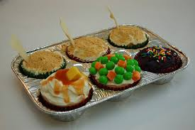 Thanksgiving Dinner Cupcakes A Crafty Balance Turkey Day Recap
