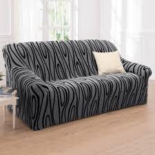 housse canapé et fauteuil housses canape 3 places maison design wiblia com