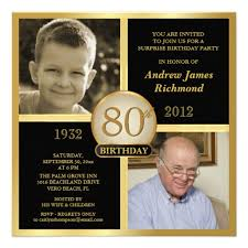 80th birthday invitations then u0026 now 2 photos 80th birthday