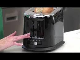 Hamilton Beach Smarttoast 4 Slice Toaster Smarttoast Extra Wide Slot 2 Slice Toaster 22323 Youtube