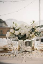 Silver Wedding Centerpieces by 50 Silver Winter Wedding Ideas For Your Big Day Winter Wedding