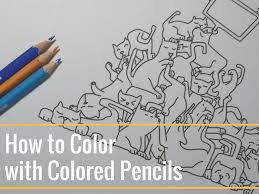 the color book how to color with colored pencils the coloring book club
