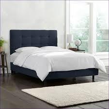 bedroom fabulous navy queen bed blue upholstered bed grey