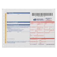 priority mail express label