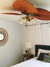 how to turn your ceiling fan from drab to fab the handy homegirl