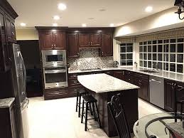 light cherry wood kitchen cabinets giallo light granite countertop with cherry wood cabinet