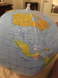 united states globe map according to this globe the united states are actually a of