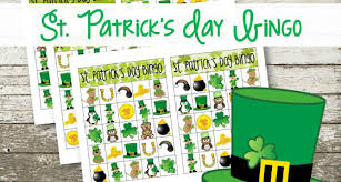 s day bingo printable st s day bingo