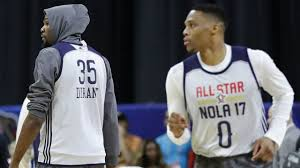 kevin durant russell westbrook u0027broke the ice u0027 after thunder star