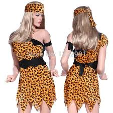 Cave Woman Halloween Costumes Stoneage Flintstones Jungle Cave Man U0026 Cave Caveman Cavewoman