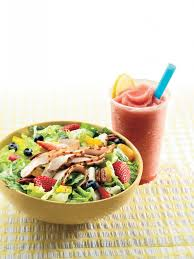 panera strawberry chicken salad surf city family