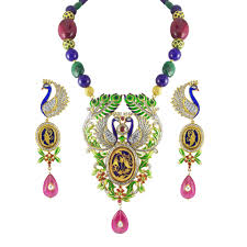 gold sets images buy traditional thewa jewellery set jpearls