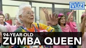 Zumba Meme - margaret masters is a 94 year old zumba dancing queen