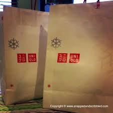 thanksgiving sale at uniqlo snapped and scribbled