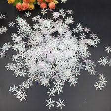 snowflake decorations snowflake decorations ebay