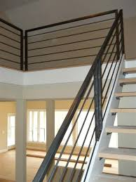 Stainless Steel Stair Handrails Metal Hand Railing Casual Picture Of Home Interior Decoration