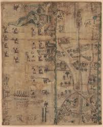 aztec map of mexico aztec map shows in 1500s mexico national geographic au