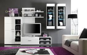 Wohnzimmer Deko G Stig Wohnwand Schwarz Weiß Spektakuläre Auf Wohnzimmer Ideen Auch