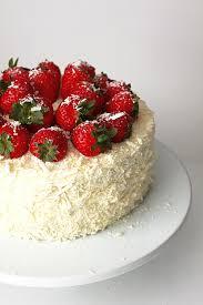 strawberry white chocolate cream cake recipe tastespotting