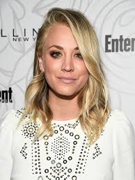 why kaley cucoo cut her hair kaley cuoco now has icy blonde hair allure