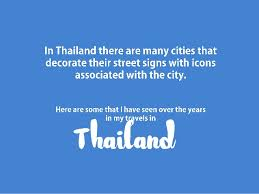 ornamental signs of thailand