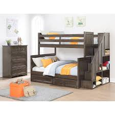 Bunk Bed Sets 2 Staircase Bunk Bed Set