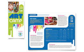 brochure design templates for education c brochure template design