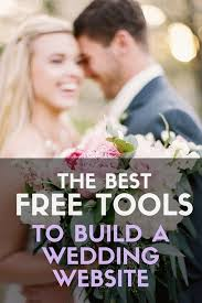 free personal wedding websites best wedding website builders top10weddingsites top