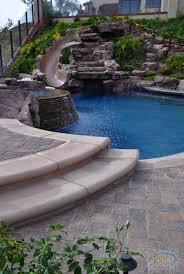 rock waterfalls slides glendora ontario pools