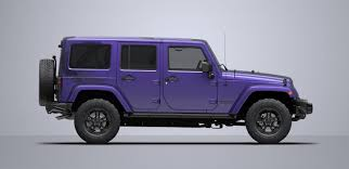 matte pink jeep 2017 jeep wrangler winter limited edition