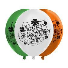 Irish Flag Shot Amazon Com St Patrick U0027s Day Balloons 3 Irish Flag Colors