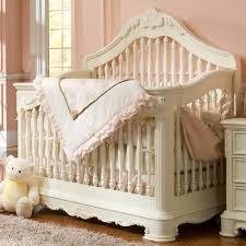 Convertable Baby Crib Creations Venezia Collection Convertible Crib In Vanilla Curtain