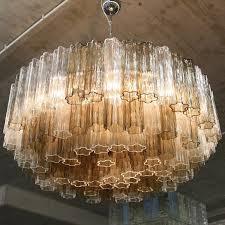 Orange Glass Chandelier Vintage Murano Glass Chandelier For Sale At Pamono