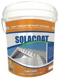 Heat Reflective Spray Paint - solacoat solacoat topcoat