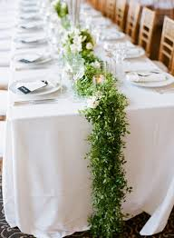 table runners wedding of stunning greenery wedding table runners 26