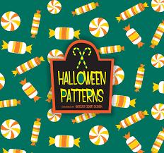 halloween candy corn pattern vector download