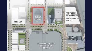Mccormick Place Map Mcpier Board Set To Vote On Depaul Arena Chicago Tonight Wttw