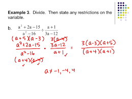9 4 simplifying rational expressions